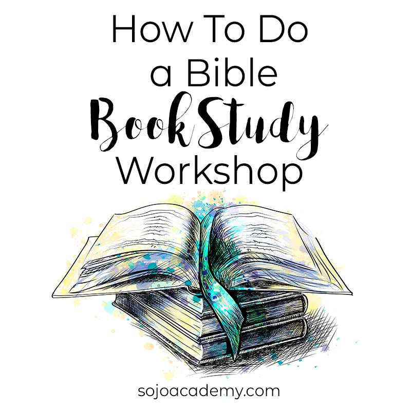 How to do a Bible Book Study Workshop